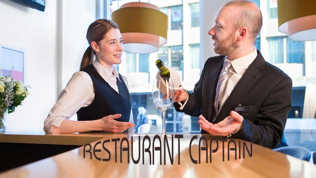 Restaurant captain là gì?